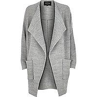 Grey jersey jacket