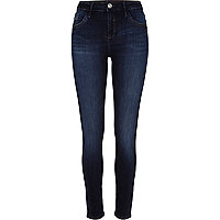 Dark blue Amelie superskinny reform jeans