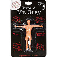 Grow your own Mr Grey toy