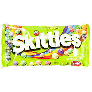 Sour Skittles sweets