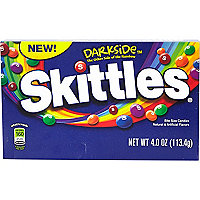 Darkside Skittles sweets box