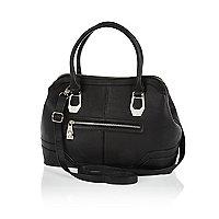 Black kettle bag