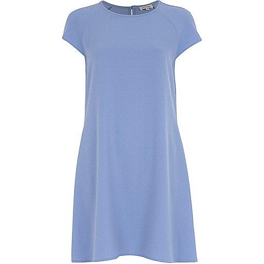 Light blue swing dress
