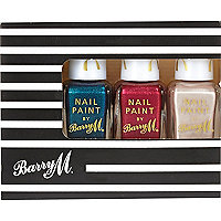 Barry M silk nail polish gift set