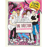 One Direction doodle and draw book