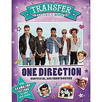 One Direction activity book