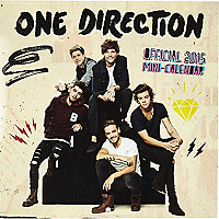 One Direction 2015 mini calendar