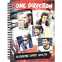 One Direction A5 academic diary 2014/15