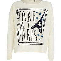 Cream take me 2 Paris print t-shirt