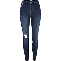 Mid wash Lila high waisted jeggings