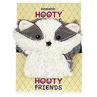 Hooty friends heatable badger doll