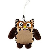 Tawny owl phone cleaner