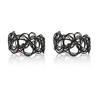 Black stretch ring pack