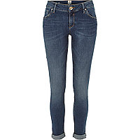 Dark wash Cara superskinny reform jeans