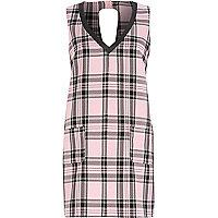 Pink Chelsea Girl check shift dress