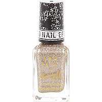 Majesty gold Barry M textured nail polish