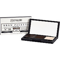 Dark brown Eylure brow palette