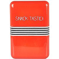 Orange snack-tastic lunch box