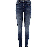 Medium wash Amelie reform superskinny jeans