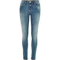 Mid wash Amelie superskinny jeans