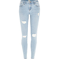 Light wash Amelie reform superskinny jeans