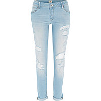 Light wash Cara superskinny reform jeans