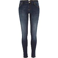 Dark wash Cara superskinny reform jeans
