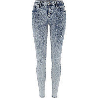 Acid wash Amelie superskinny reform jeans