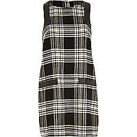 Black Chelsea Girl check print shift dress