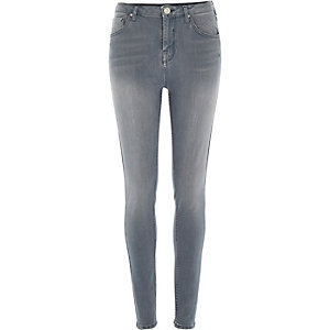 Grey wash Lana superskinny jeans