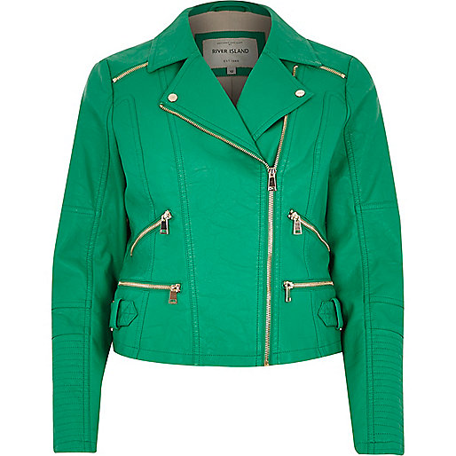 "alt=""green biker jacket"""