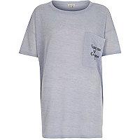Blue comme ci comme ça oversized t-shirt