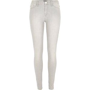 Grey washed Molly jeggings