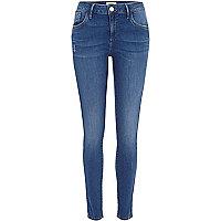 Intense blue wash Amelie superskinny jeans