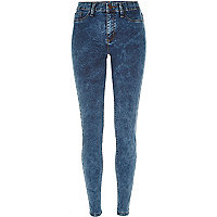Dark acid wash Molly reform jeggings