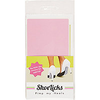Light pink shoelicks