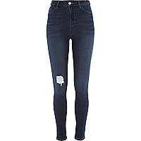 Mid wash denim Lila high waisted leggings