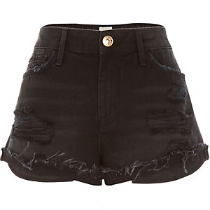 Black Ruby denim shorts