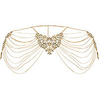 Gold tone regal harness