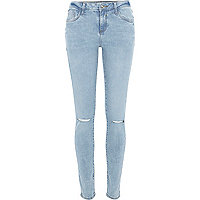 Light wash Amelie superskinny reform jeans