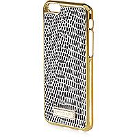 Black snake print iPhone 6 phone case