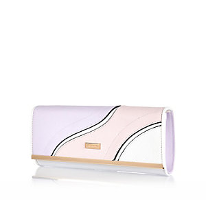 Pink swirl front clutch