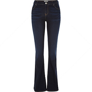 Dark wash Brooke flare jeans