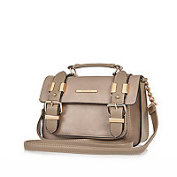Light brown mini satchel