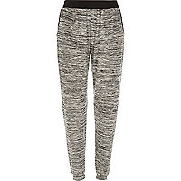 Grey neppy light joggers