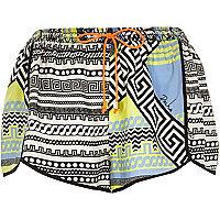 Blue Pacha bold print shorts