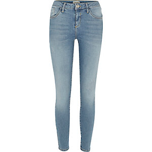 Mid ankle grazer Amelie superskinny jeans