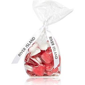 Jelly love heart sweets