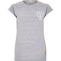 Grey sugar high fitted t-shirt