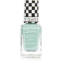 Road Rage green Barry M speedy nail polish